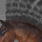 HiveWire Horse: Working with and Posing the Mane