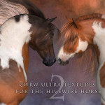 Sneak Previews for Ultra Textures for the HiveWire Horse Pack 2